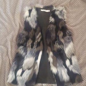 Just Fab faux fur vest